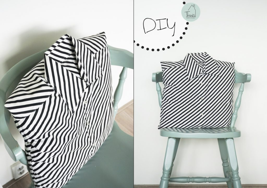 Wonderbaarlijk Overhemd kussens om zelf te maken - THUIS interieur & woondeco OT-08