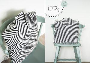 DIY overhemd kussen