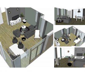 3D tekeningen interieuradvies 1