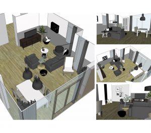 3D tekeningen interieuradvies 2