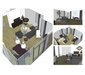 3D tekeningen interieuradvies 3