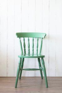 Groene stoel restyle